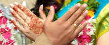 SHREERAM AND AMBIKA ENGAGEMENT